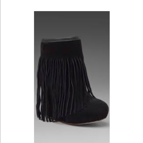 576a557b0c1 Koolaburra Veleta fringe wedge booties